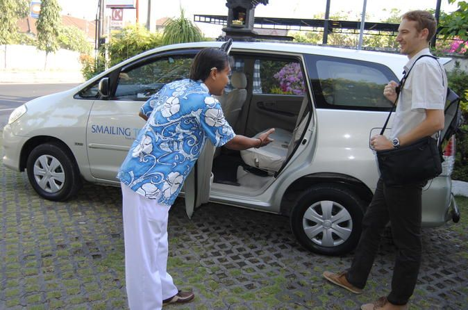 Private Custom Tour: Bali Your Way with Driver and Charter Car Discover Bali at your own pace and be free to go wherever you want for 12 hours maximum with your personal driver and car by using the best private car charter service in Bali.  You will get to decide where you would want to go in Bali and if you need a little help, our driver will be able to provide great suggestions. No longer do you need to follow a fixed itinerary as with this car charter, you have the ...
