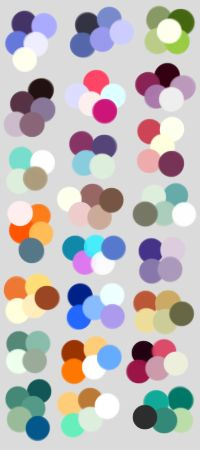 Random Color Palettes 2 by LifeError