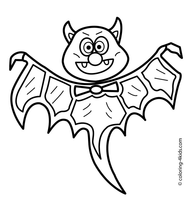 25 best Bat coloring pages ideas