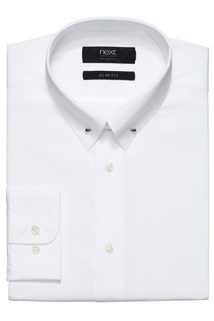 Buy White Shirt With Collar Pin from the Next UK online shop