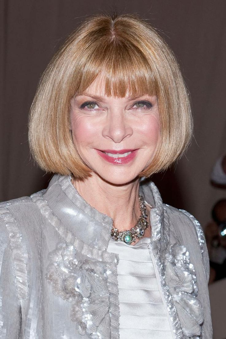 Anna Wintour Banned Ariana Grande From Wearing Ponytail: The Just-This-Once Bob: Charlize Theron, 2005