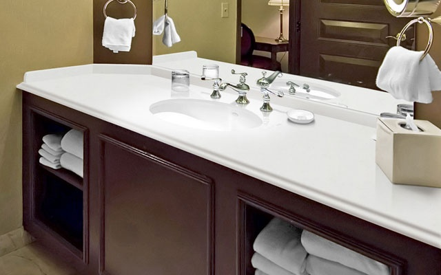 Arctic Bathroom - Elements by Durcon: Arctic Bathroom, Counter Tops, Bathroom Counter