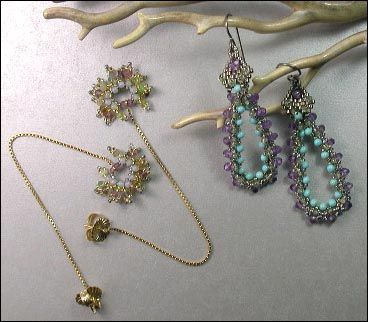 Couture Earrings ©2006 by Cynthia Rutledge