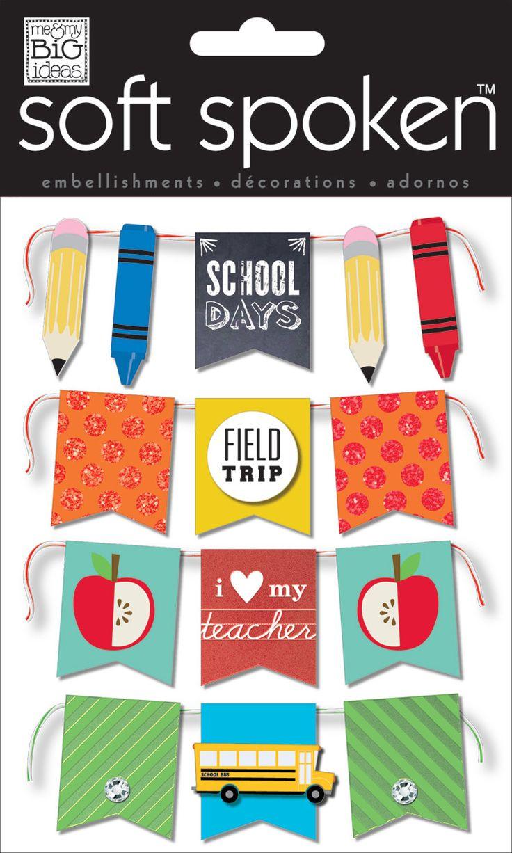 School Days - Mini Banners   On the wish list