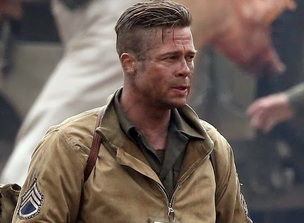Brad Pitt in Fury HD W...