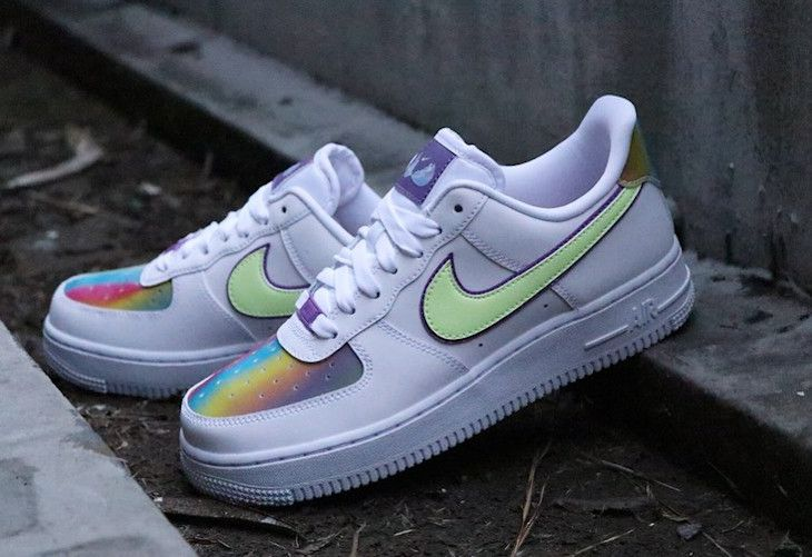 chaussure nike air force multicolore