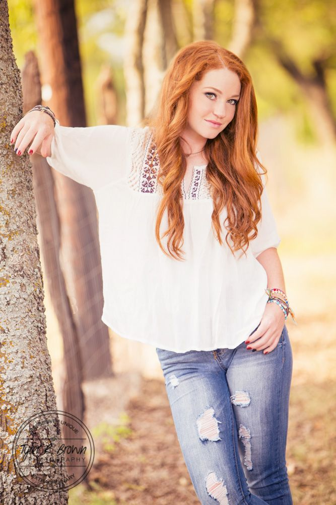 Madi Meyers - Luscombe Farms - Lone Star High School - Senior Portraits - Country Chic - Class of 2016 - @neeneestiles - Dallas - Senior Pictures - Redhead - Casual - Senior Model Rep - Tyler R. Brown Photography