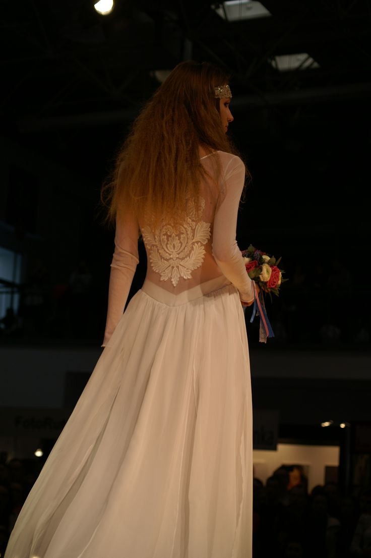 #suknia ślubna 1512 w stylu #boho#vintage#folk