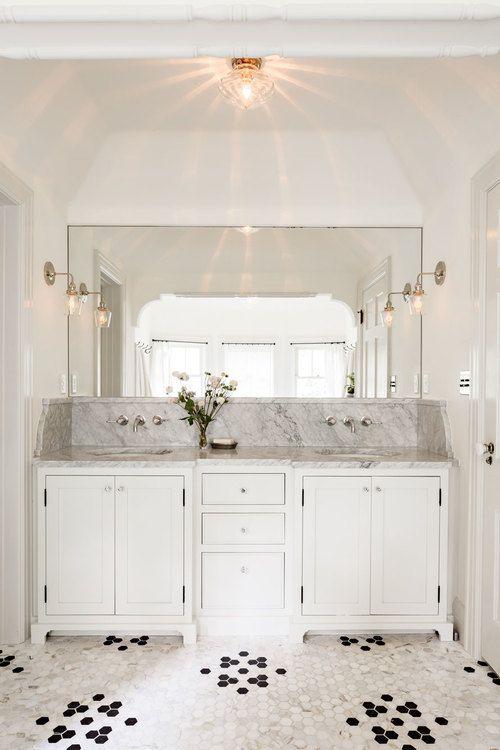 1582 best bathroom vanities images on pinterest for Tudor bathroom ideas