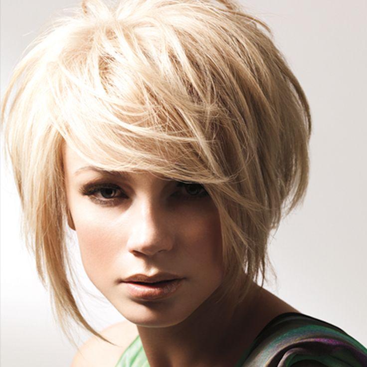 Стрижки на короткие волосы с короткой чёлкой фото