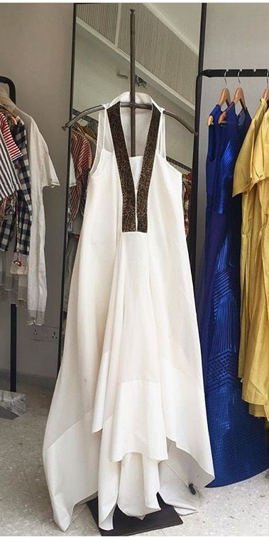 Is it a kurti, or is it a gown?  perfect indo western dress fusion!