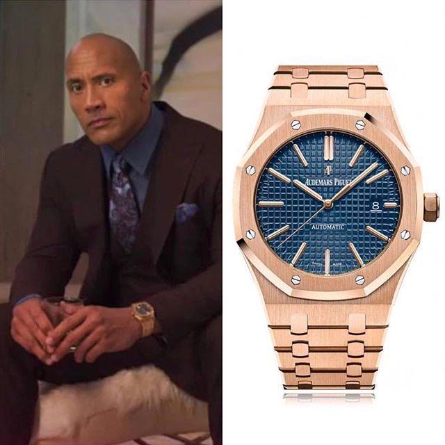 Dwayne The Rock Johnson Wears A Audemars Piguet Watch Royal Oak