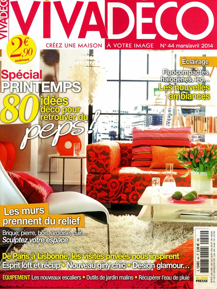 Décoplus in the latest issue of Viva Déco magazine #Press #Home #interior #decoration