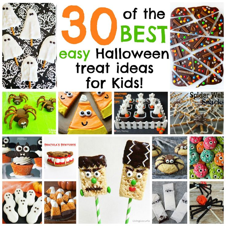 1000 images about halloween treats on pinterest easy for Fun halloween treats to make with toddlers