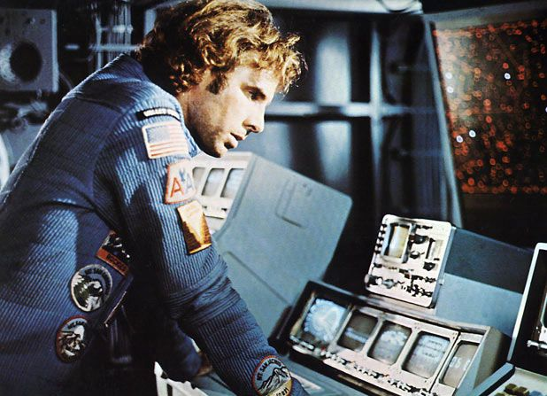 """Character Freeman Lowell played by Bruce Dern in """"Silent Running,"""" 1971"""