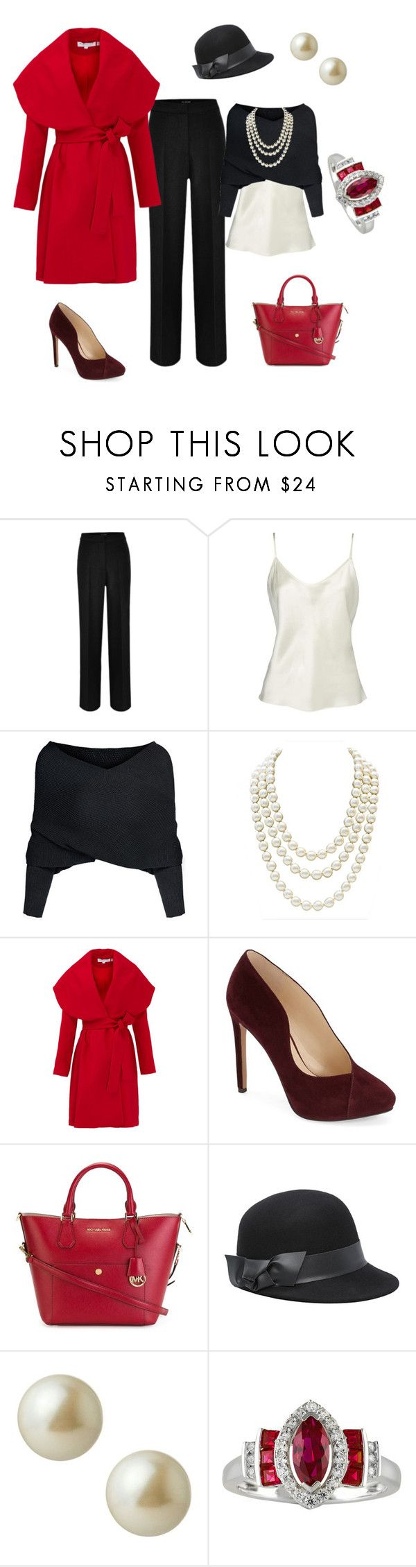 """Xmas styling ideas $1"" by antiadamo on Polyvore featuring Chanel, Keepsake the Label, Nine West, MICHAEL Michael Kors, Bebe and Carolee"