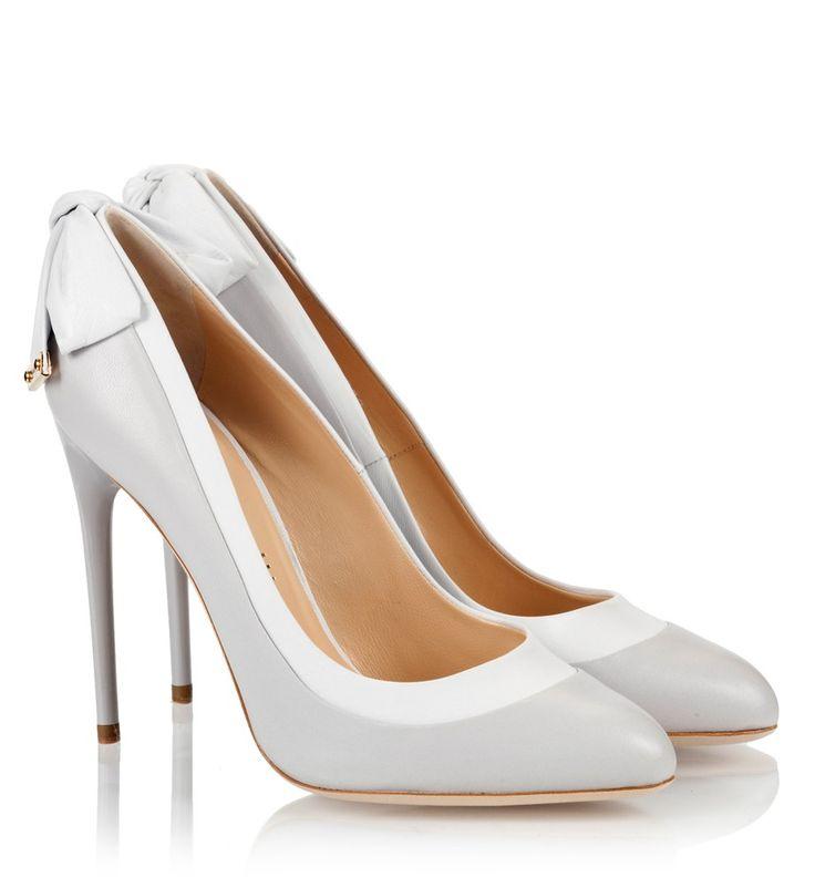 Ballin ADELE ICE Two-tone high heel single sole pumps #ballinshoes #pumps #