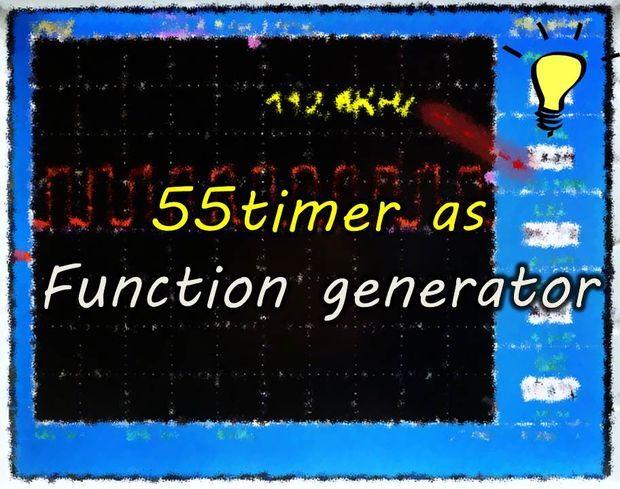 555 Timer Function Generator