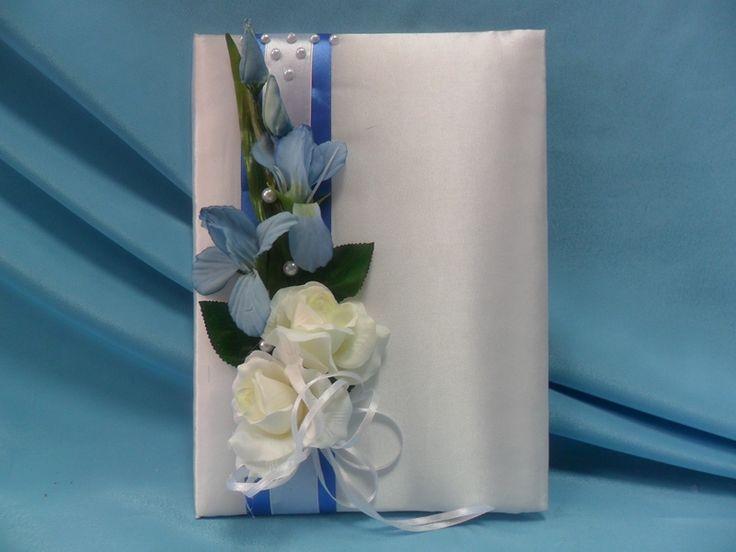 Свидетельство о браке в декоре с розами и ирисами.