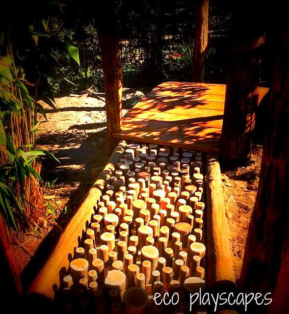 Sensory Path under completion - design and created by Eco Playscapes
