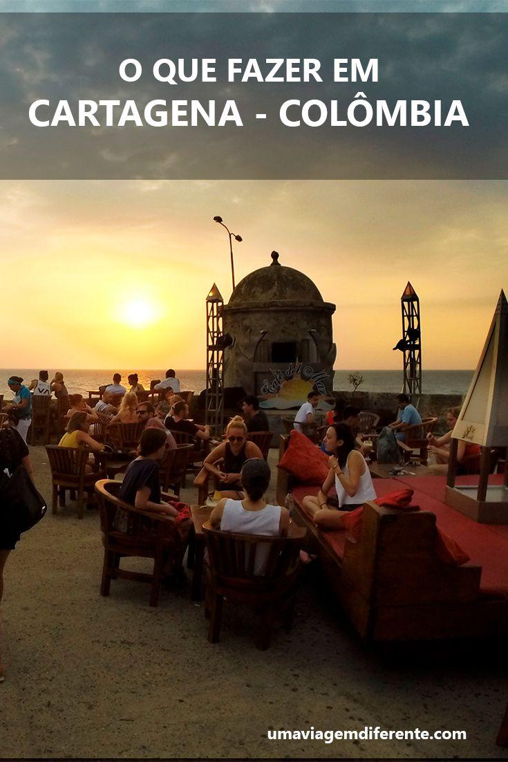 Dicas do que fazer em Cartagena, na Colômbia.#cartagenadeindias #cartagena #colombia #sunset
