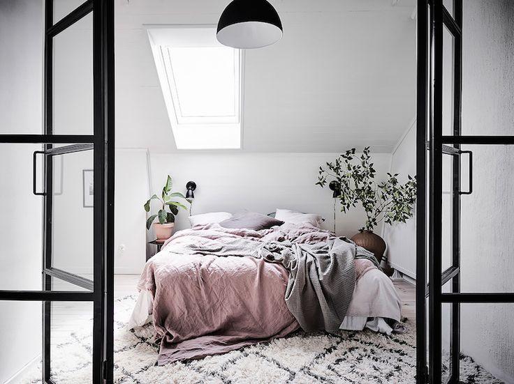 A Beautiful Swedish Apartment In The Attic