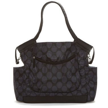 Skip Hop - Gallery Nappy Bag - Black Dot