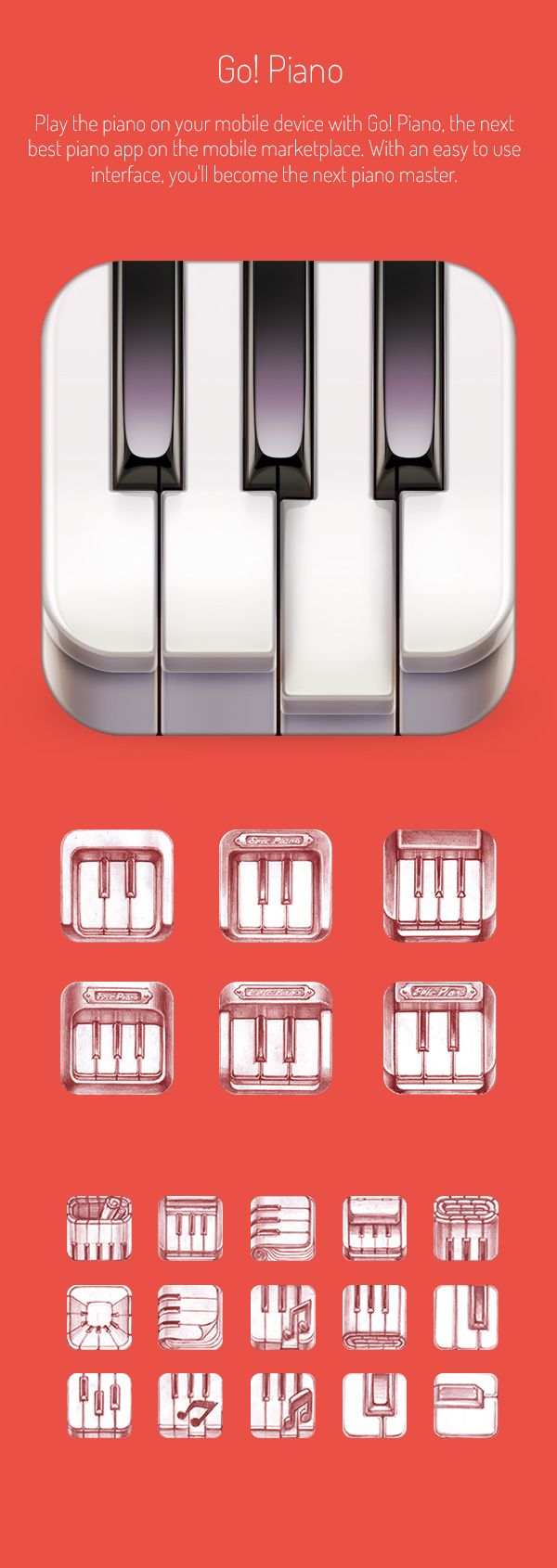 Realistic iOS App Icons on Behance