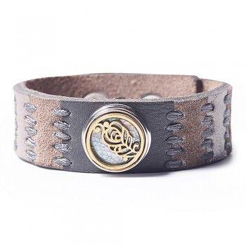 Noosa Armband Oshun love life grau ohne Chunk- Limitierte Edition