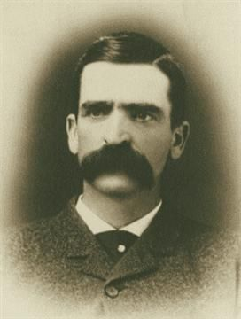 Seth Bullock If there's one thing that truly defines Wild West style, it's magnificent facial hair – and Seth Bullock's mustache was among the most magnificent. Bullock was the first sheriff of the now-famous Deadwood, S.D., and he later became a U.S. marshal. He was a good friend of Theodore Roosevelt and rode with him in the Spanish-American War. (Wikimedia Commons)