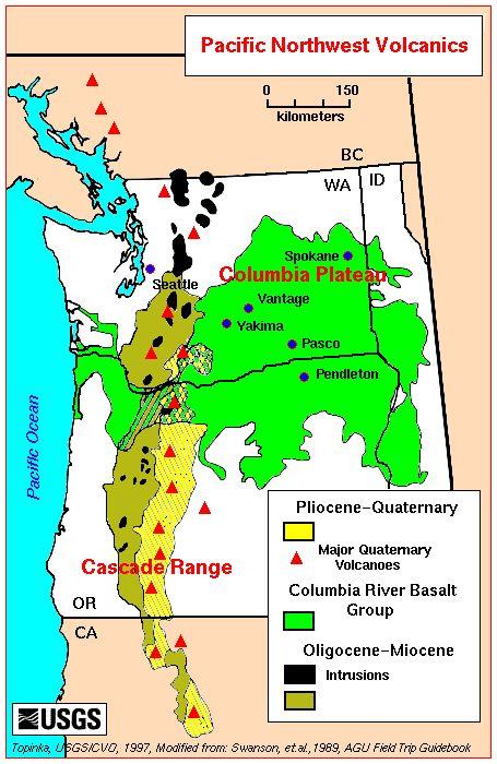 Washington State Volcanics rock hounding