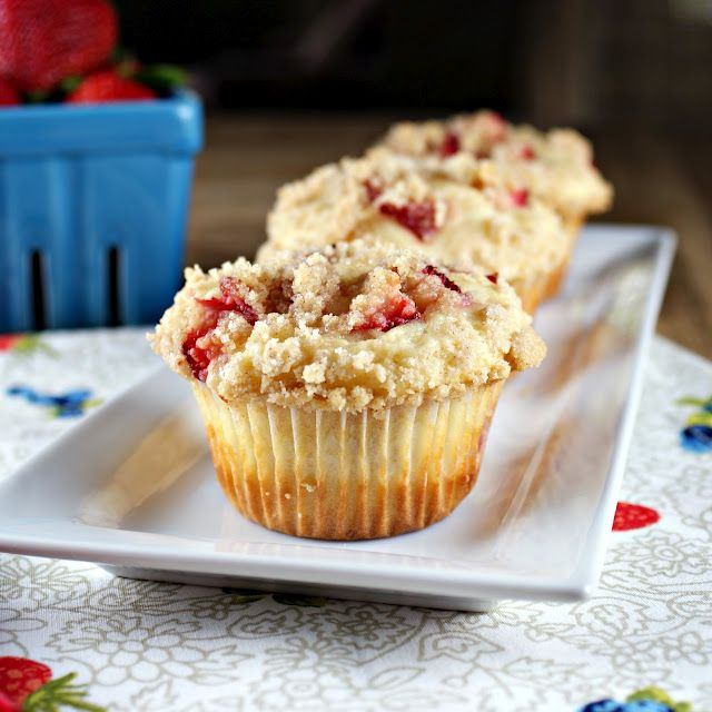 Strawberries and Cream Muffins | breakfast, breakfast, breakfast | Pi ...