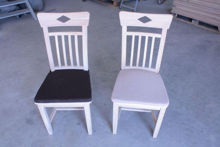 solid oak chair Dijon