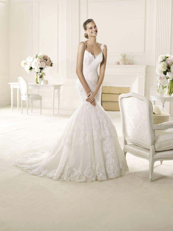 65 besten Pronovias Bilder auf Pinterest | Hochzeitskleider ...