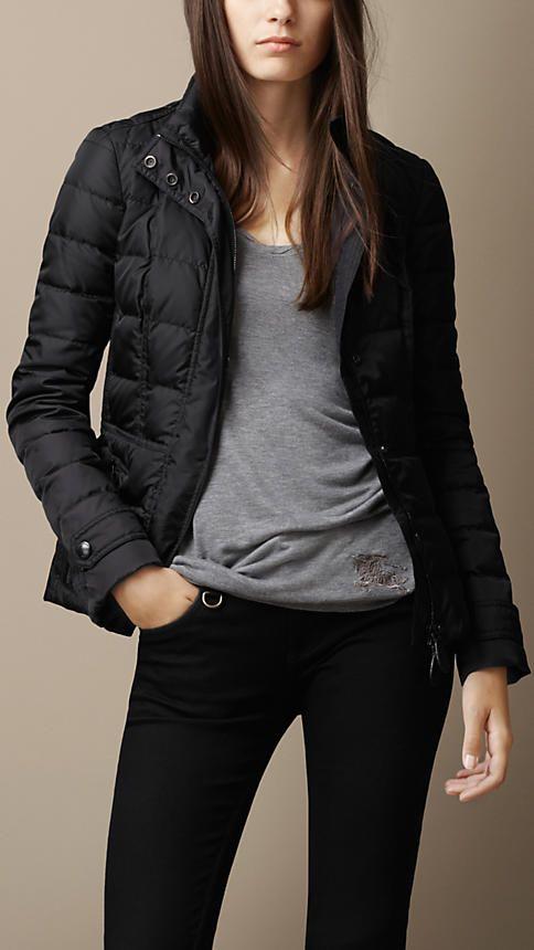 Burberry Brit Showerproof Puffer Jacket
