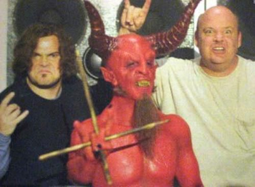 Dave Grohl played the Devil in 'The Pick of Destiny'