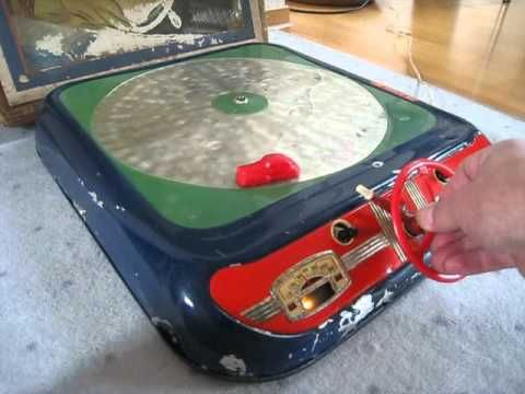 MSB Polar 2 Raupe Kettenfahrzeug DDR Blechspielzeug