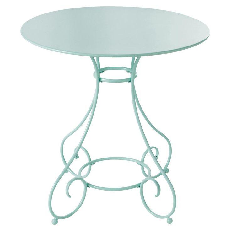 Gartentisch rund Metall  MARY