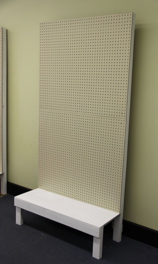 Pegboard Display Stand for Shop or Garage #DisplayStands