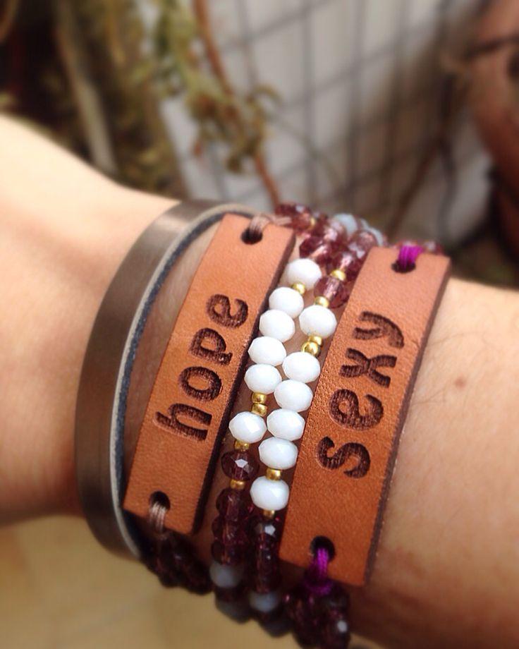 Handmade bracelets for me!!!!!