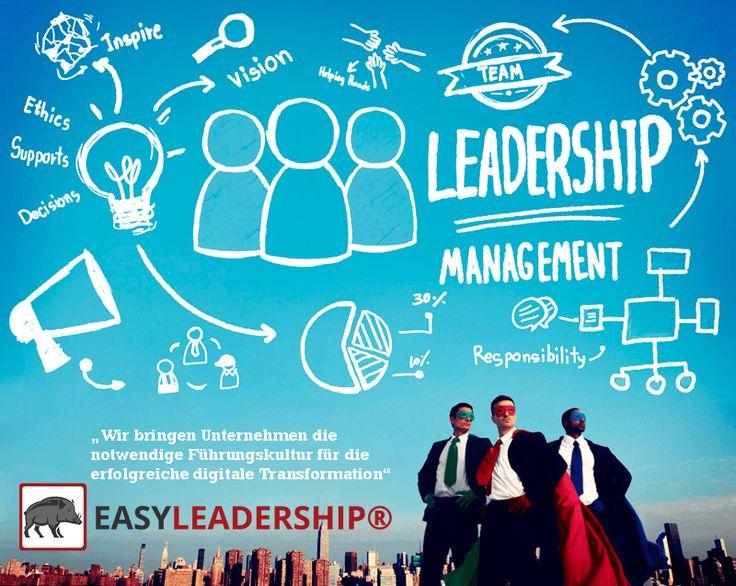 Wir bringen Unternehmen die notwendige Führungskultur für die erfolgreiche digitale Transformation