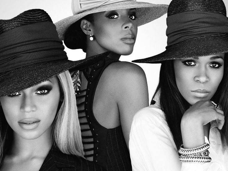 Membres : *Beyoncé Knowles *Kelly Rowland *Michelle Williams Anciens membres	: *LeToya Luckett *LaTavia Roberson *Farrah Franklin