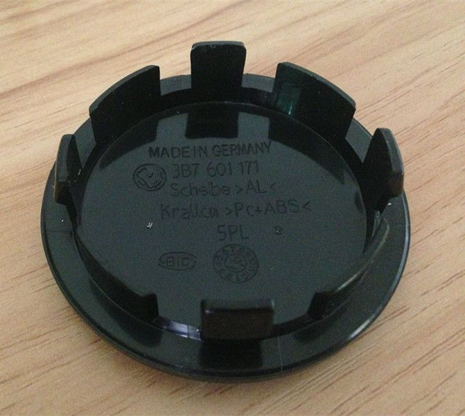 4 unids C06 65mm 56mm 70mm 76mm del centro de rueda hub cap cap Logo insignia emblemas EOS Golf Jetta Mk5 Passat B6 de VW 3B7 601 171