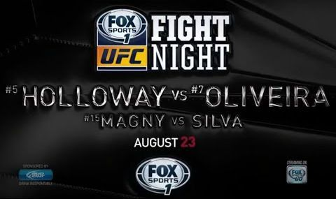 UFC Fight Night 74 for SUNDAY August 23, 2015 fight card and start time