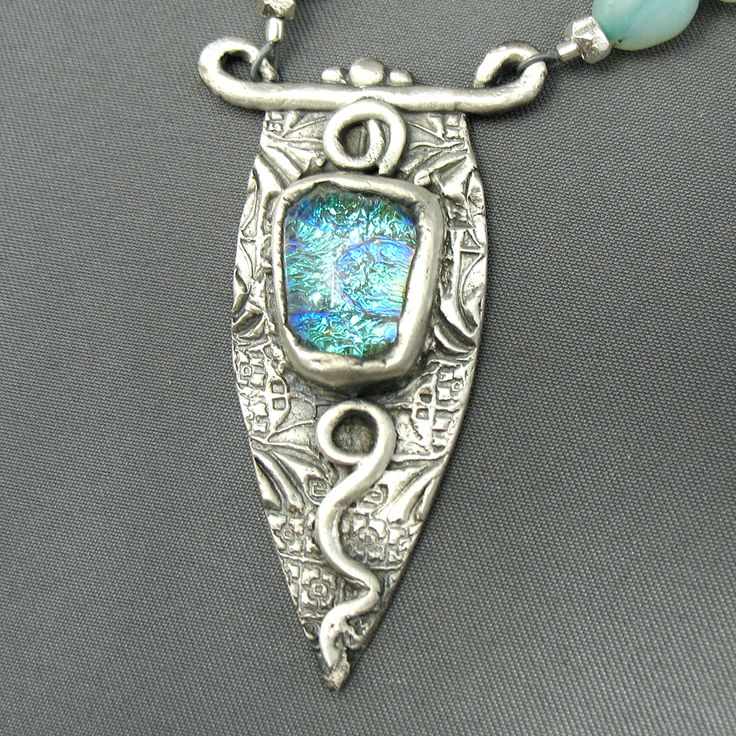 281 best metal clay artists work images on pinterest precious metal clay pendant mozeypictures Gallery