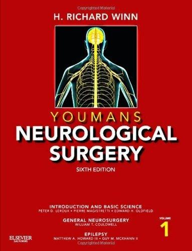Youmans Neurological Surgery, 4-Volume Set: Expert Consult - Online and Print, 6e (Winn, Neurological Surgery) by H. Richard Winn MD, http://www.amazon.com/dp/1416053166/ref=cm_sw_r_pi_dp_OKWTrb0XCMW4F