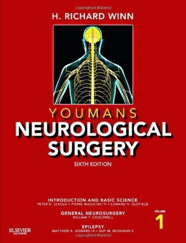 Youmans Neurological Surgery, 4-Volume Set: Expert Consult - Online and Print, 6e (Winn, Neurological Surgery) by H. Richard Winn MD, http://www.amazon.com/dp/1416053166/ref=cm_sw_r_pi_dp_OKWTrb0XCMW4F