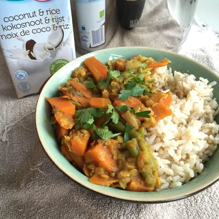 Sri-Lankaanse wortelcurry recept- Lisa goes Vegan