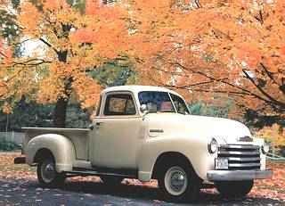 1951 Chevy Model JP Series 3100 Stepside
