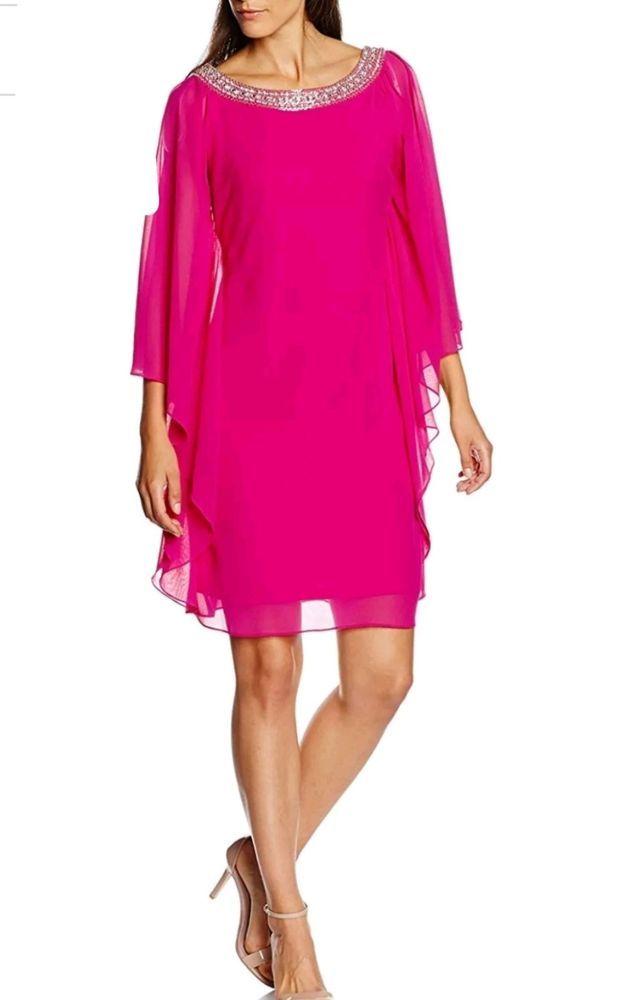2f4059f6f7 MAGENTA EMBELLISHED BATWING DRESS SIZE UK 10 BNWT RRP 175 WEDDING #fashion  #clothing #shoes #accessories #womensclothing #dresses (ebay link)